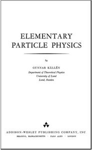 Elementary Particle Physics free download