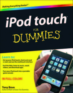 iPod touch For Dummies free download