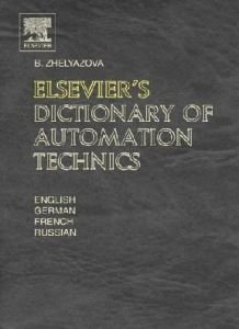 Dictionary of Automation Technics free download