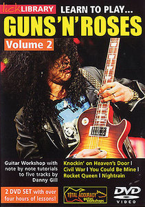 Lick Library - Learn to play Guns 'N' Roses Vol. 2 free download
