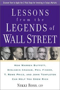 Lessons from the Legends of Wall Street By Nikki Ross free download