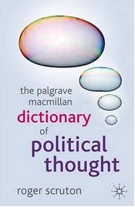 Dictionary of Political Thought free download