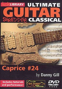 Lick Library - Ultimate Guitar - Shredding Classical - Caprice No. 24 free download