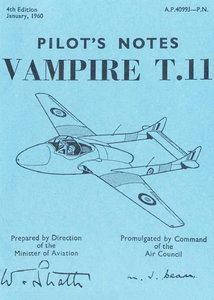 Pilots Notes Vampire T11 free download
