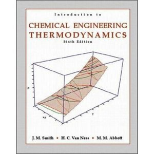 Introduction to Chemical Engineering Thermodynamics free download
