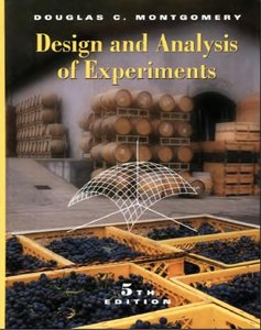 Design and Analysis of Experiments free download