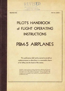 Pilots handbook of flight operating instructions PBM-5 airplanes free download