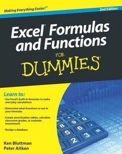 Excel Formulas and Functions For Dummies, 2 Edition free download