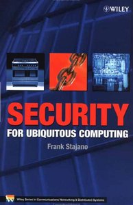 Security for Ubiquitous Computing free download