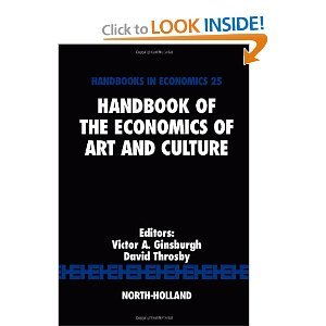 Handbook of the Economics of Art and Culture free download