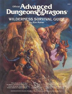 Official Advanced Dungeons and Dragons: Wilderness Survival Guide free download