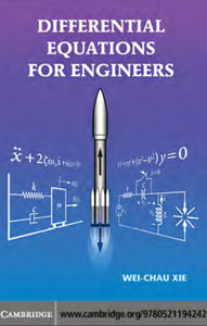 Differential Equations for Engineers free download
