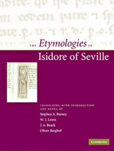 The Etymologies of Isidore of Seville free download