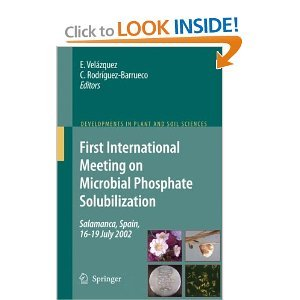First International Meeting on Microbial Phosphate Solubilization free download