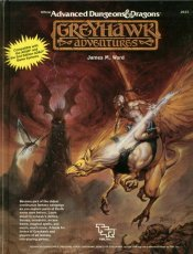 Greyhawk Adventures (Advanced Dungeonsamp; Dragons Rulebook) free download