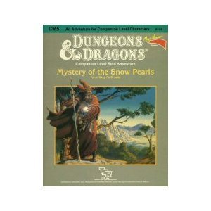 Mystery of the Snow Pearls (Dungeonsamp; Dragons Module) free download