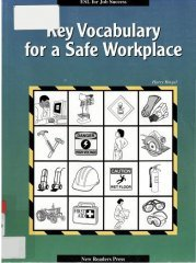 Key Vocabulary for a Safe Workplace free download