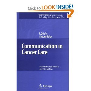 Communication in Cancer Care free download