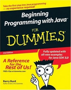 Beginning Programming with Java For Dummies free download