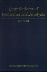 Foundations of Mathematical Analysis free download