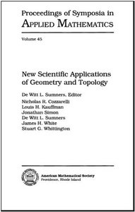 New Scientific Applications of Geometry and Topology free download