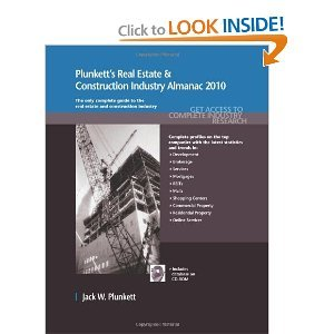 Plunkett's Real Estate And Construction Industry Almanac 2010 free download