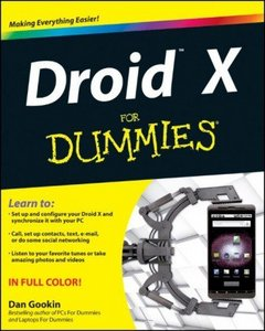 Droid X For Dummies free download