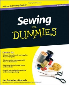 Sewing For Dummies free download
