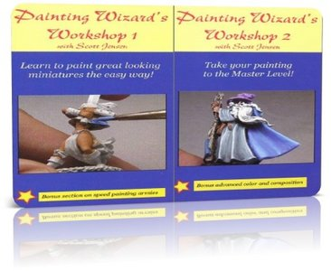 Scott Jensen, Sarah Shockley - The Painting Wizard's Workshops 1amp; 2 free download