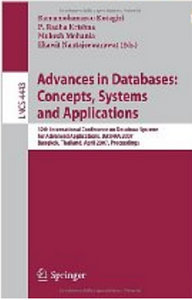 Advances in Databases: Concepts, Systems and Applications free download