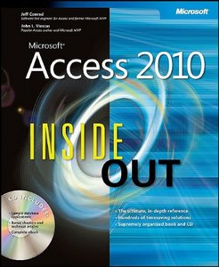 Microsoft Access 2010 Inside Out (chapters from CD included) free download