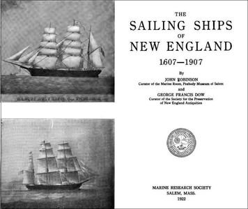 The Sailing Ships of New England, 1607-1907 free download