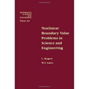 Nonlinear boundary value problems in science and engineering free download