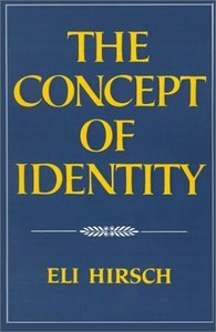 Eli Hirsch The Concept of Identity free download