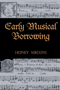 Early Musical Borrowing free download