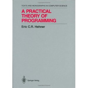 A Practical Theory of Programming (Monographs in Computer Science) free download
