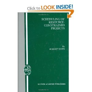 Scheduling of Resource-Constrained Projects (Volume 10) free download