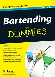Bartending For Dummies, 4 edition free download