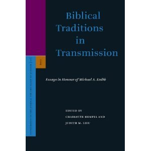 Biblical Traditions in Transmission free download
