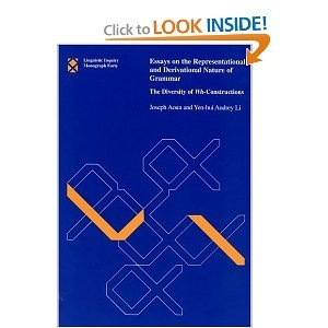 essays on the representational and derivational nature of grammar Encuentra essays on the representational and derivational nature of grammar: the diversity of wh-constructions (linguistic inquiry monographs) de joseph e aoun, yen.