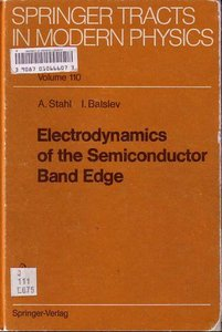 Electrodynamics of the Semiconductor Band Edge free download