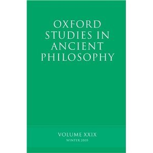 Oxford Studies in Ancient Philosophy free download