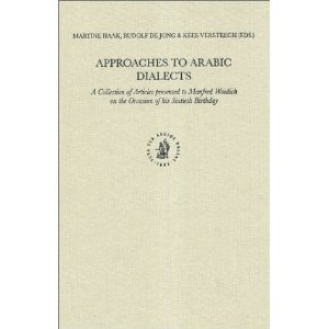Approaches to Arabic Dialects free download