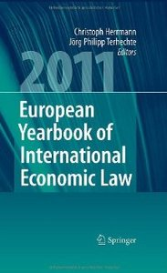 European Yearbook of International Economic Law 2011 free download