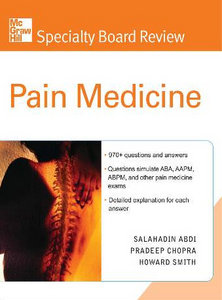 Specialty Board Review Pain Medicine free download