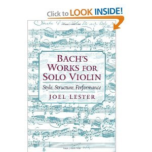 Bach's Works for Solo Violin free download