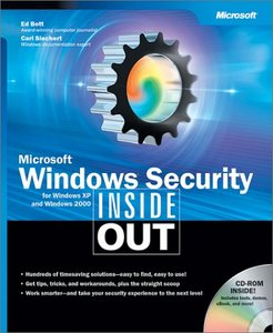 Microsoft Windows Security Inside Out for Windows XP and Windows 2000 free download
