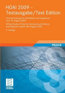 HOAI 2009 Textausgabe / Text Edition, 4 Auflage free download