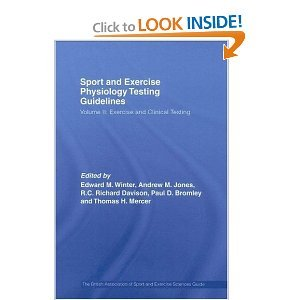 Sport and Exercise Physiology Testing Guidelines free download