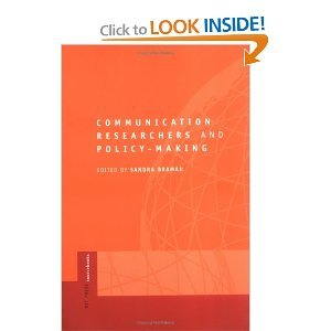 Communication Researchers and Policy-making free download